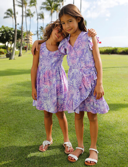 FLORAL DRESS FOR GIRLS